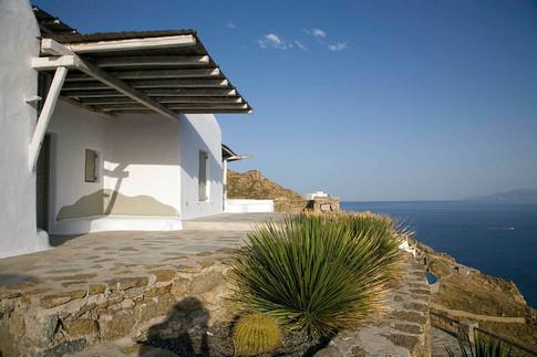 Mykonos. Greece. Landscape design by ecgardens