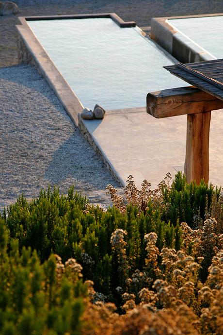 Mykonos, Greece. Landscape design by doxiadis+