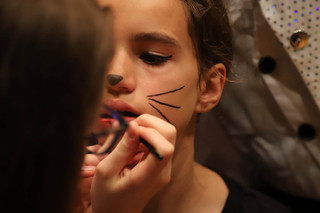 Backstage at Alice The Musical