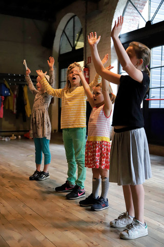 Rehearsals for Alice The Musical