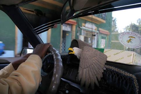 Taxi. Gondar
