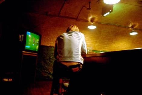 South Africa (vs Spain). 12 June 2002. The Springbok Bar, Covent Garden, London