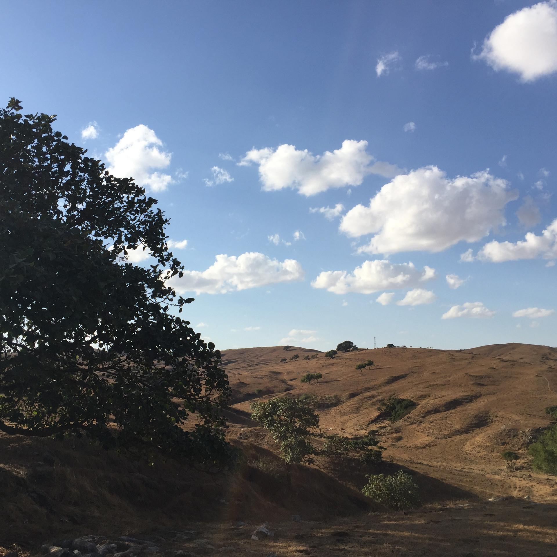 The Qara mountain range