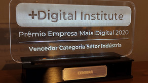 CENIBRA vence prêmio de tecnologia digital