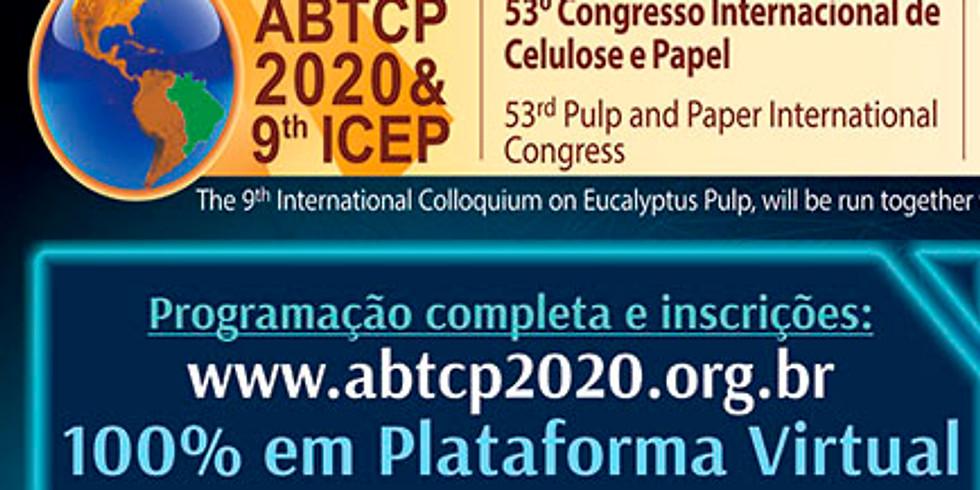 Começou o ABTCP 2020 e 9º ICEP - 100% Virtual - Inscreva-se