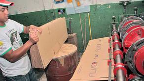 Setor de papel e papelão estima uma queda de 10% neste ano – Falta de insumos afeta a produção
