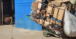 Sem poder trabalhar durante a pandemia, catadores de recicláveis passam dificuldades em BH