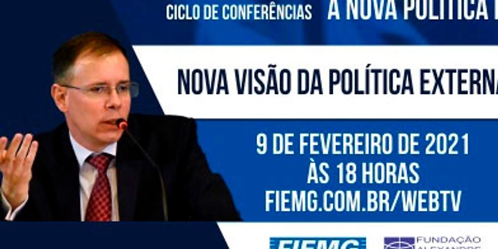 Ministro Rodrigo d'Araújo Gabsch realiza palestra para empresários mineiros