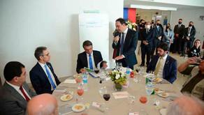 Bolsonaro se encontra com industriais mineiros