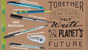 A BIC transforma sua abordagem para produtos e embalagens de plástico