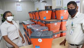 CENIBRA distribui cestas e brinquedos para empregados e instituições