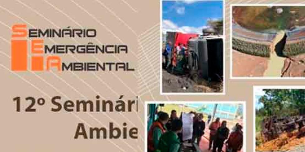 12º Seminário de Emergência Ambiental