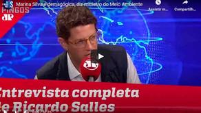 Entrevista do ministro do Meio Ambiente, Ricardo Salles - Jovem Pan