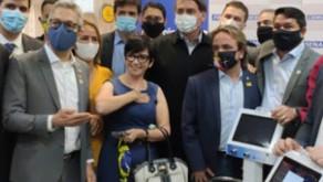 Federação das Indústrias doa 100 ventiladores pulmonares ao governo federal