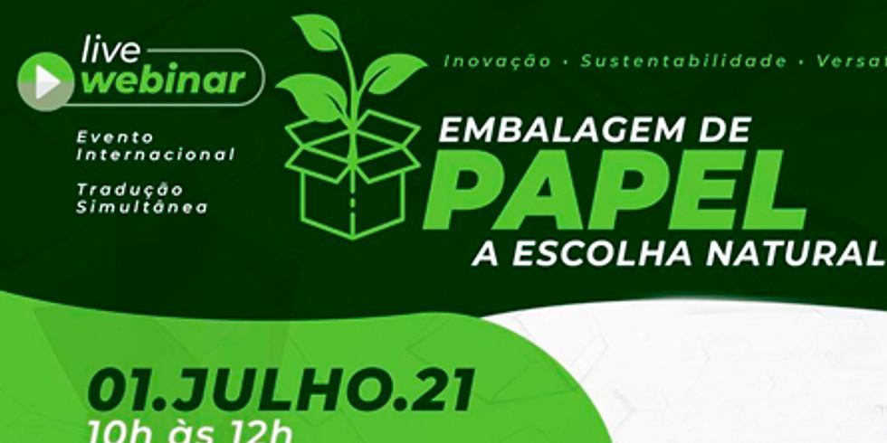 Live Webinar: Embalagem de Papel a Escolha Natural