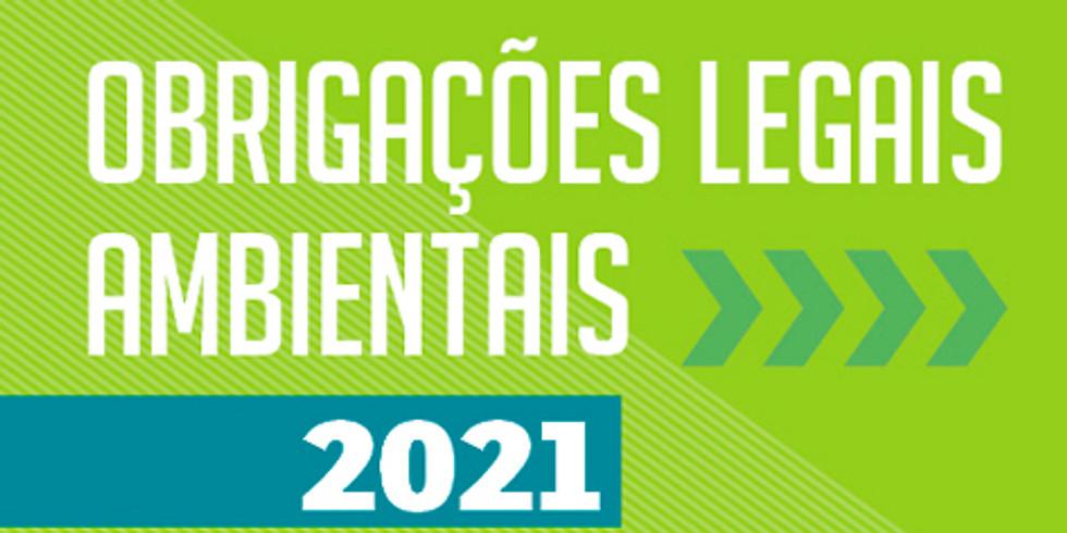 Obrigações Legais Ambientais 2021 - Evento On-line 22 e 23/02