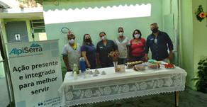 Paraibuna Embalagens apoia ação de desinfecção em lar de idosos
