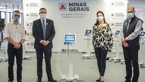 FIEMG, por meio do Projeto Inspirar, entrega ventiladores ao governo de Minas
