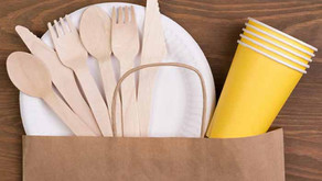 Embalagem de papel de uso único melhor para o ambiente do que talheres reutilizáveis - nova LCA