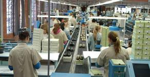Faturamento da indústria em agosto supera o do período pré-pandemia, informa CNI