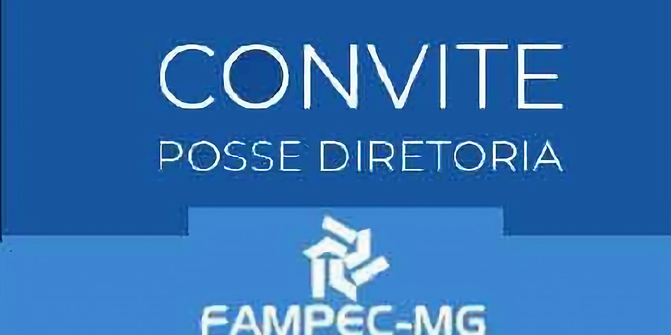 Convite Posse Diretoria da FAPEMC-MG