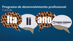 Paraibuna Embalagens oferece curso de italiano para os seus colaboradores