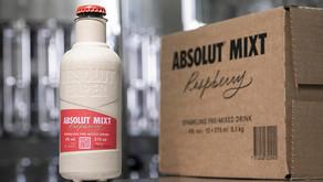 Espírito de circularidade: Absolut Vodka é lançada em garrafa de papel no Reino Unido e na Suécia