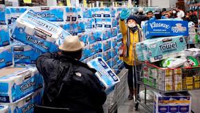 Compras de papel higiênico disparam na Espanha