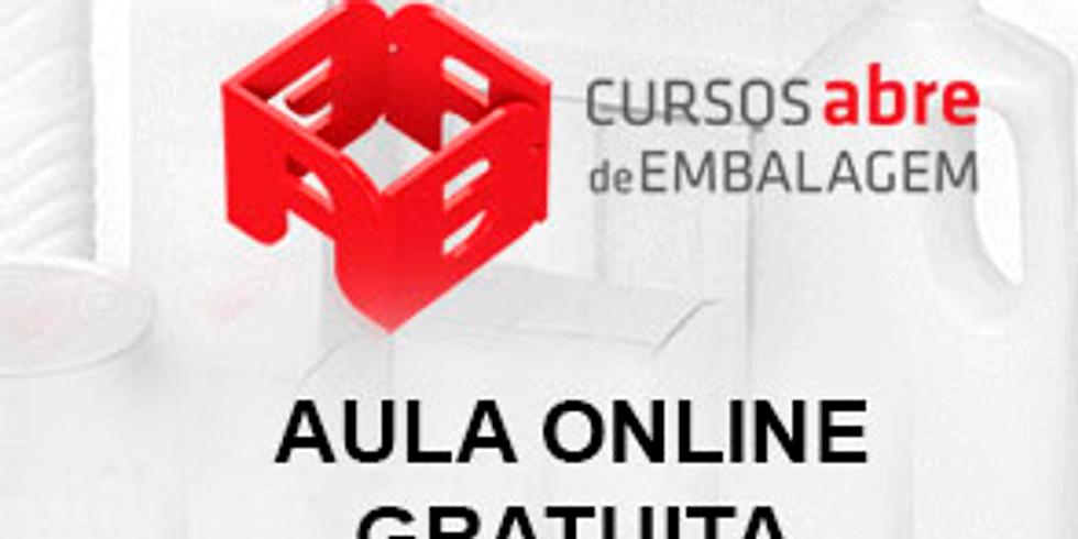 ABRE: Aula Online Gratuita - Seleção de materiais para embalagens e alimentos