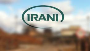 Irani recebe selo de energia verde em programa de bioeletricidade