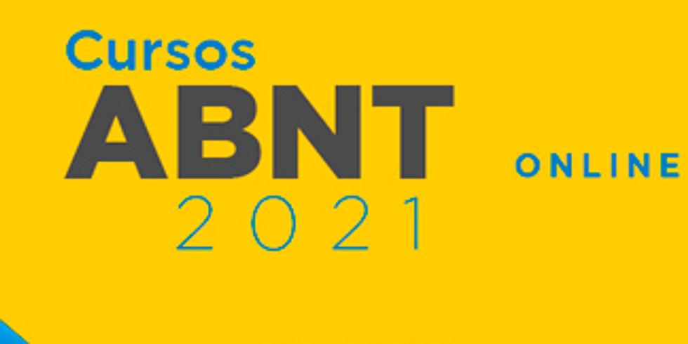 ABNT - Próximas Turmas 2021 - ONLINE (ao vivo) - março/2021