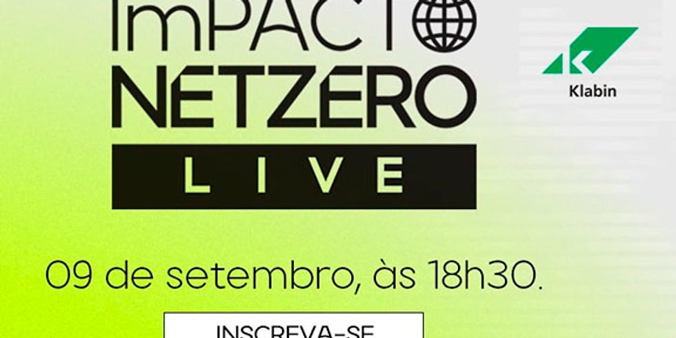 Convite Klabin I Impacto NetZero Live - apoio Two Sides