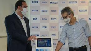 FIEMG doa mais respiradores para montagem de novos leitos de UTI