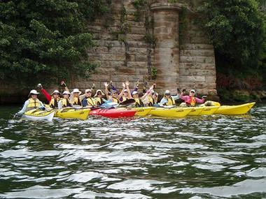 Paddle Paramatta River