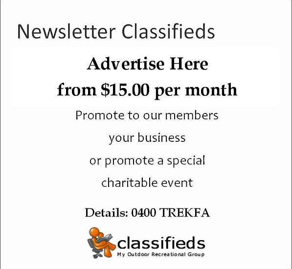 Newsletter Classifieds