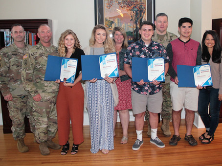 RECORD NUMBER OF SCHOLARSHIPS AWARDED