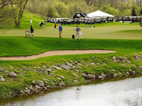 MORE THAN 100 GOLFERS TEE UP
