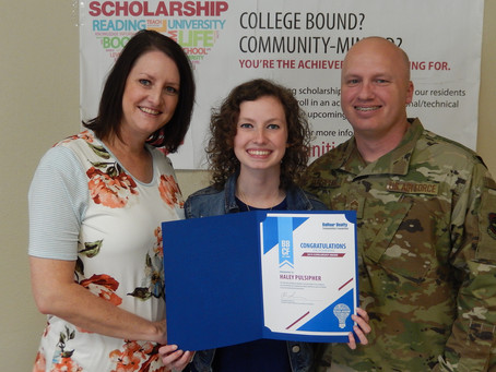 AWARDS MORE THAN $120,000 IN SCHOLARSHIPS