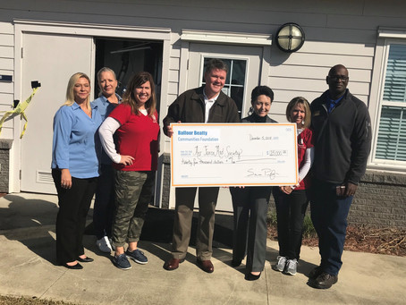 $25k DONATED TO HELP MILITARY FAMILIES