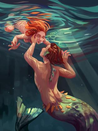 Sinking in love