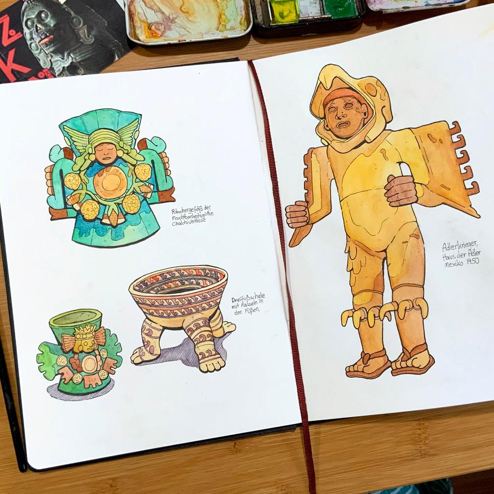 Aztec Sketchbook 2