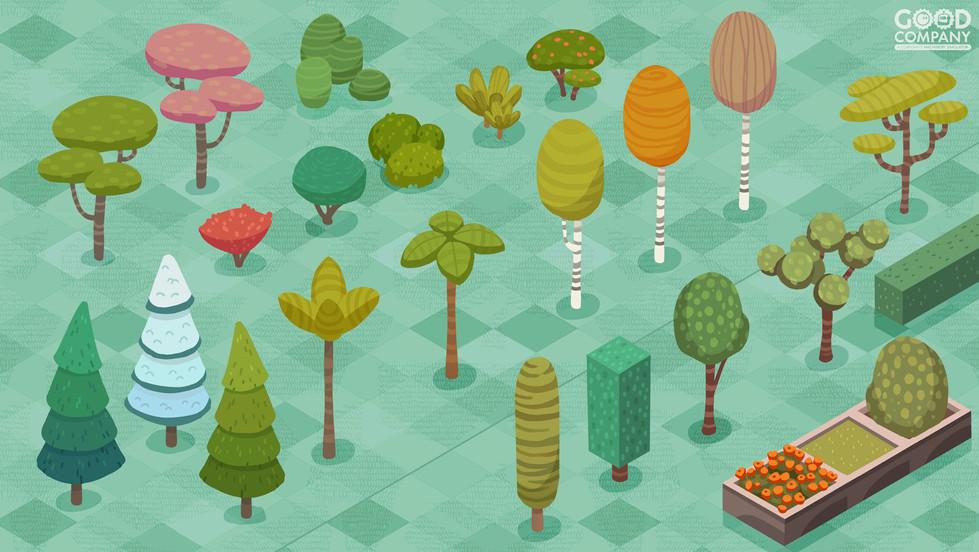 plants concept art