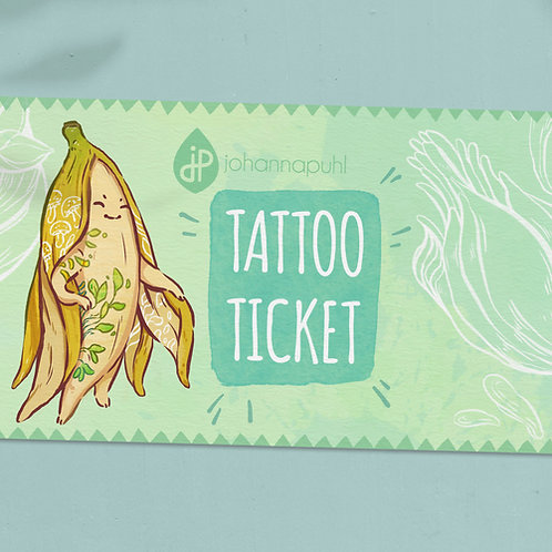Johannas Tattoo Ticket