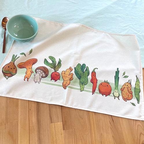 Veggie kitchen towel