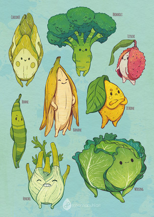 the cutest veggies