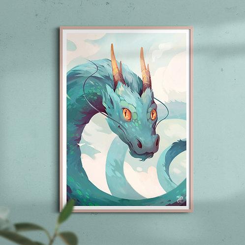 A3 Fantasy art print