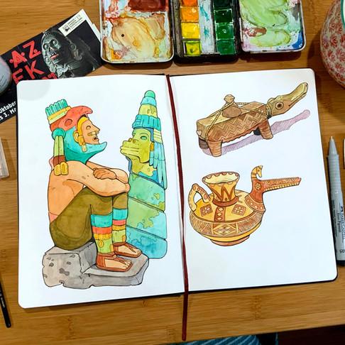 Aztec Sketchbook