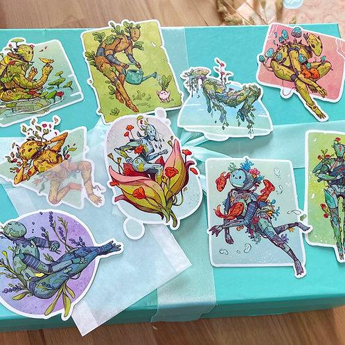 All Botanical Bot Stickers!