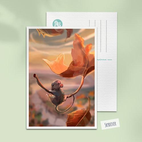 A6 Fantasy art postcard