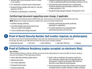 California's Real ID Extended Until April 1, 2019